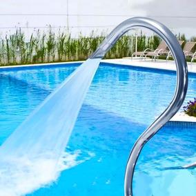 Cascata De Piscina Tubular Toda Em Aço Inox 304 Splash 102m