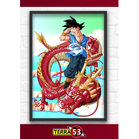 Poster A4 Dragon Ball Z Gt Goku Super Sayajin Kakarotto