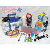 Kit Ferramentas P/ Refrigeração Ar Condicionado E Automovel