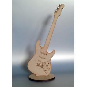15 Figuras Guitarra Mdf Madera Country Recuerdito 25 Cms.
