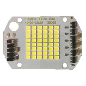 Chip Led 50w 6000k Inteligente Funciona S/ Reator 127v