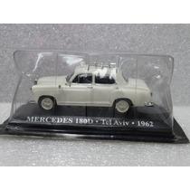 Mercedes 180d Tel Aviv 1962 Táxis Clássicos 1:43