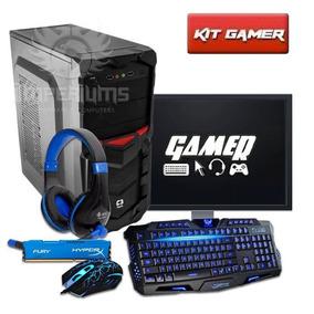 Pc Completo Gamer A4 7300 + Kit Gamer Frete Gratis!