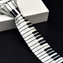Corbata Piano Envio Gratis Teclado Musicos Pianistas Traje