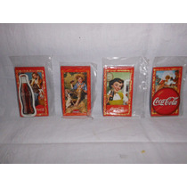 Lote 4 Sobres Cerrados Imanes Coca Cola Memorabilia (ángela)