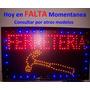 Cartel Led Ferreteria- Abierto- Oferta-40 Más-pizarras Led