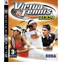 Virtua Tennis 2009 Ps3 Mídia Física Novo Lacrado