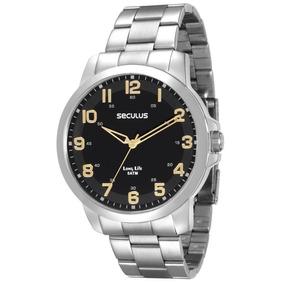a34126b741e Seculus 23396gpsbpa1 - Relógio Masculino no Mercado Livre Brasil