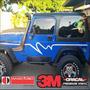 Calcomanias Jeep Wrangler Cj Jk Tj Yj Cintas Laterales