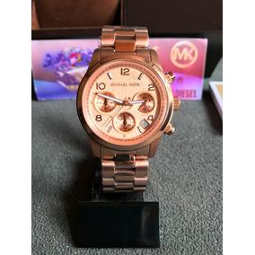 3820e215c6238 Michael Kors Mk5128 Rose Replica - Relógios no Mercado Livre Brasil
