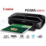 Impresora Canon A3 Pixma Ix-6810 Usb/lan/wifi (c)