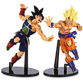 Goku E Bardock Dragon Ball Z Action Figure 2pçs