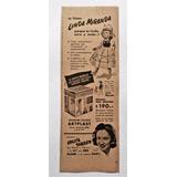 Antiguo Clipping Muñeca Linda Miranda Y Su Casita Año 1953