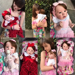 Bebês Reborn - Cris - Molde Saskia