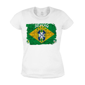 Camiseta Feminino Baby Look Copa Do Mundo #2