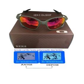 Oculos Da Oakley Juliet Metal Vermelho - Óculos no Mercado Livre Brasil af1550015cb
