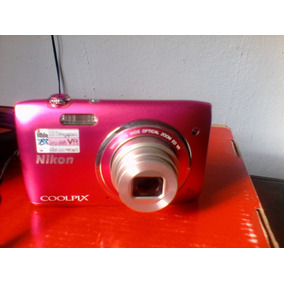 Camara Nikon Colpix S3500 20,1 Mp, Zoon 7x.
