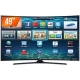 Smart Tv Led Curva 49