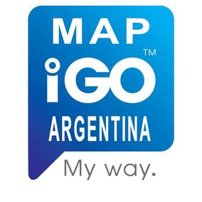 Mapa Argentina 2018 P/ Igo8 Igo Primo Stereos Y Gps Chino