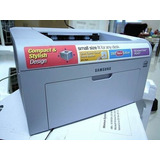 Impresora Láser Samsung Ml 2010 Andando + 2 Cartuchos Llenos
