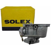 Corpo Carburador C/eixo Solex Fusca/kombi 1200 Original Vw