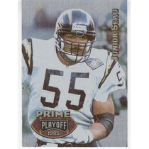 1995 Playoff Prime Junior Seau San Diego Chargers