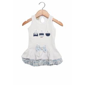 Vestido Infantil - Babados Florais - Have Fun