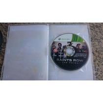 Saints Row 3 The Third [ntsc/pal] S/capa Xbox 360-frete:r$10