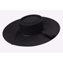 Sombrero Huaso ( Marca Castor ) Paño Lana Nuevo