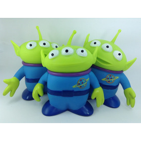 Set Alien Marcianos Toy Story 14cms Thinkway Disney