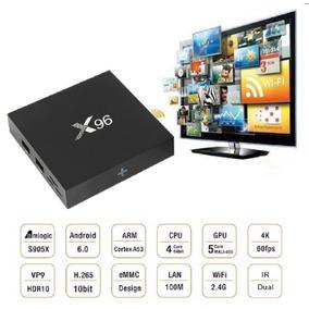 Convertir Smart Tv Box 4k Netflix 1gb Ram+8g Android 6.0 X96