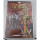 Dvd Wolverine E Os X-men - Temp. 1 - Vol.6 - Original Novo