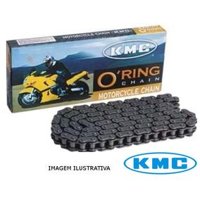 Corrente Moto Rm125/250/virago 520uo X 114l Kmc C/ Retentor