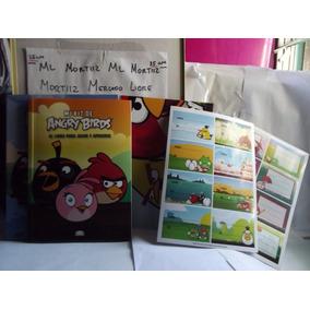 Libro Angry Birds, Kit Con Poster, Stickers, Actividades
