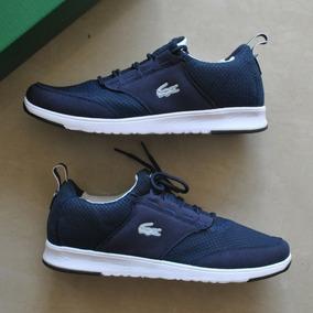 Zapatos Lacoste Active Azul Para Caballeros
