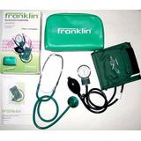 Tensiómetro Aneroide Franklin Con Estetoscopio Y Funda Nuevo