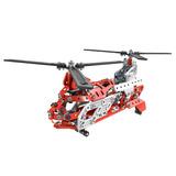 Juego De 20 Modelos Meccano Rescate Aéreo