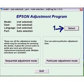 Reset Epson Serie