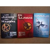Trilogía Los Juegos Del Hambre En Llamas Sinsajo - Collins