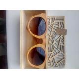 Lentes Sol De Madera, Bamboo, Bambu