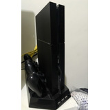 Playstation 4 500gb + Fifa 16 + 2 Cont + Base Refrigerante