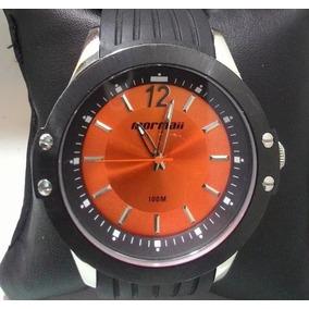 Relógio Mormaii Com Caixa De Aço E Pulseira De Borracha