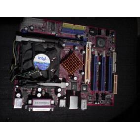 Tarjeta Madre Biostar P4vmgl 478 + Cpu + Fancooler + Memoria