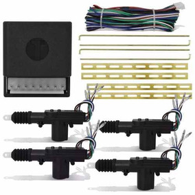 Kit Trava Eletrica + Suporte Fiesta Street Escort 4 Portas