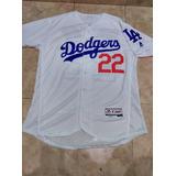 Jersey Beisbol Dodgers Mlb Angeles Clayton Kershaw Mediana
