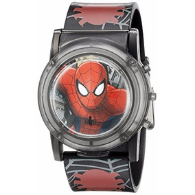 Envio Gratis Reloj Spiderman Hombre Araña Original Para Niño