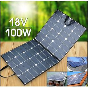 100w Painel Solar Semi-flexivel Placa Fotovoltaica -18v