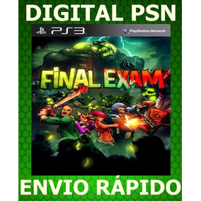 Ps3 Final Exam Digital Psn Envio Rápido