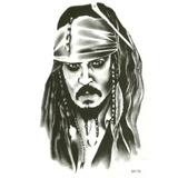 Tatuagem Temporária Piratas Do Caribe Jack Frete Gratis