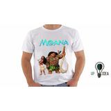 Camiseta Moana 3 Desenho Animado Infa. Personalizado Cod 559